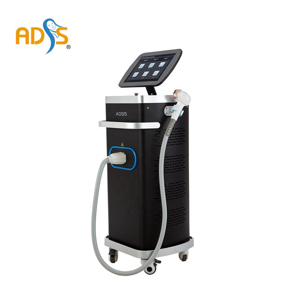 ADSS Newest diode laser hair removal machine / 808nm diode laser hair removal