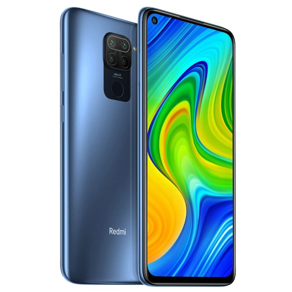 "Global version Redmi Note 9 128GB 4GB Smartphone Helio G85 5020mAh battery 18W fast Charging 6.53"" DotDisplay 48MP Camera"