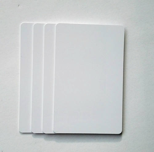 Durable blank plastic name card ID cards waterproof PVC inkjet printing business cards with coated