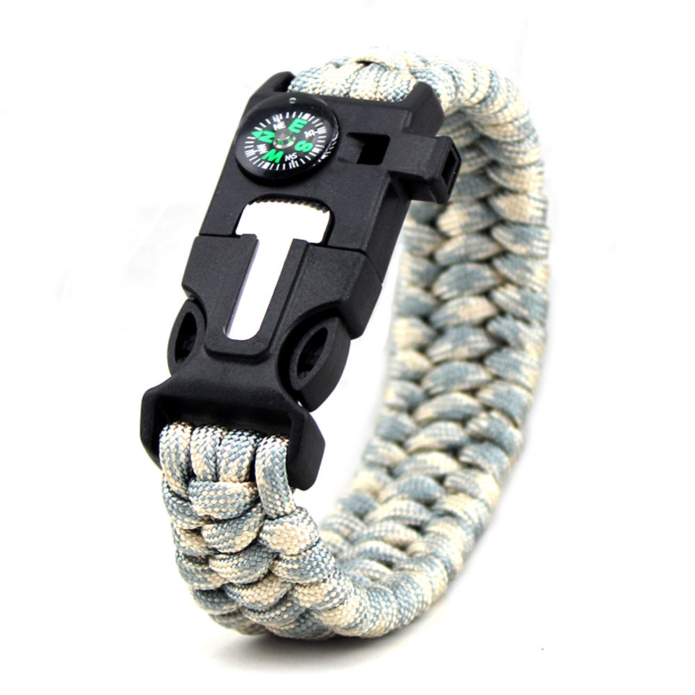 Gifts Camping Survival Paracord Bracelet, Hot Seller Rope Parachute Cord Bracelets