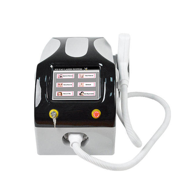 Best selling Beauty Salon tattoo removal machine 1064nm 532nm ND-Yag painless laser Tattoo Removal Machine
