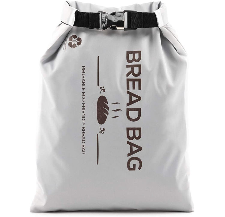 BPA Free Recycled Polyester Reusable Bread Bag Keeps Bread Fresh Food Storage RPET Bread Bag