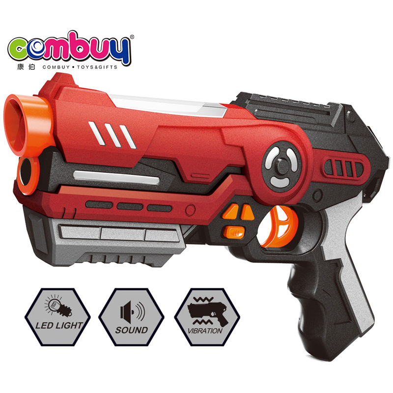 Kid play lighting sound game electric toy laser battle gun