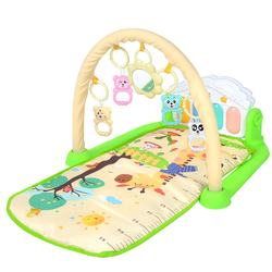 Multi-functional Fitness Exercise Baby Play Gym Mat Activity Piano Mat Toys for babies