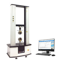 Lab Computer Control Electromechanical 50KN Shock Absorber Compression Testing Machine Force Tester