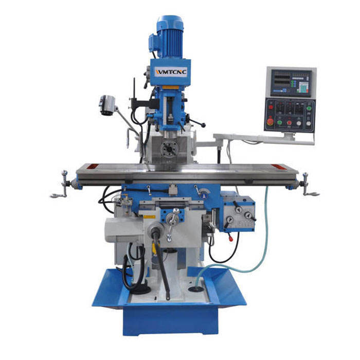 Manual Milling machine ZX6350ZA for metal milling function