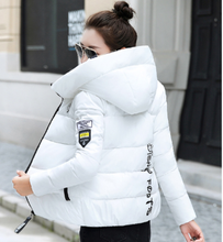 Winter Parkas Women 2019 Autumn Plus Size 5XL Coat Jacket Hooded Thick Warm Short Outerwear Female Slim Cotton Padded Basic Tops