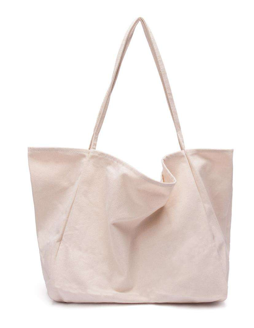 ECO friendly cotton shopping bag promotional canvas packaging bag degradable carry bags