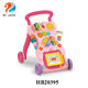 Wholesale cheap multifunction plastic cute baby walker with music baby pram kids learning walker