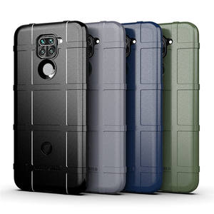 New 2020 Durable TPU elasticity soft sleeve Bar pattern TPU waterproof phone case For Xiaomi Redmi 10X 4G/Redmi note 9