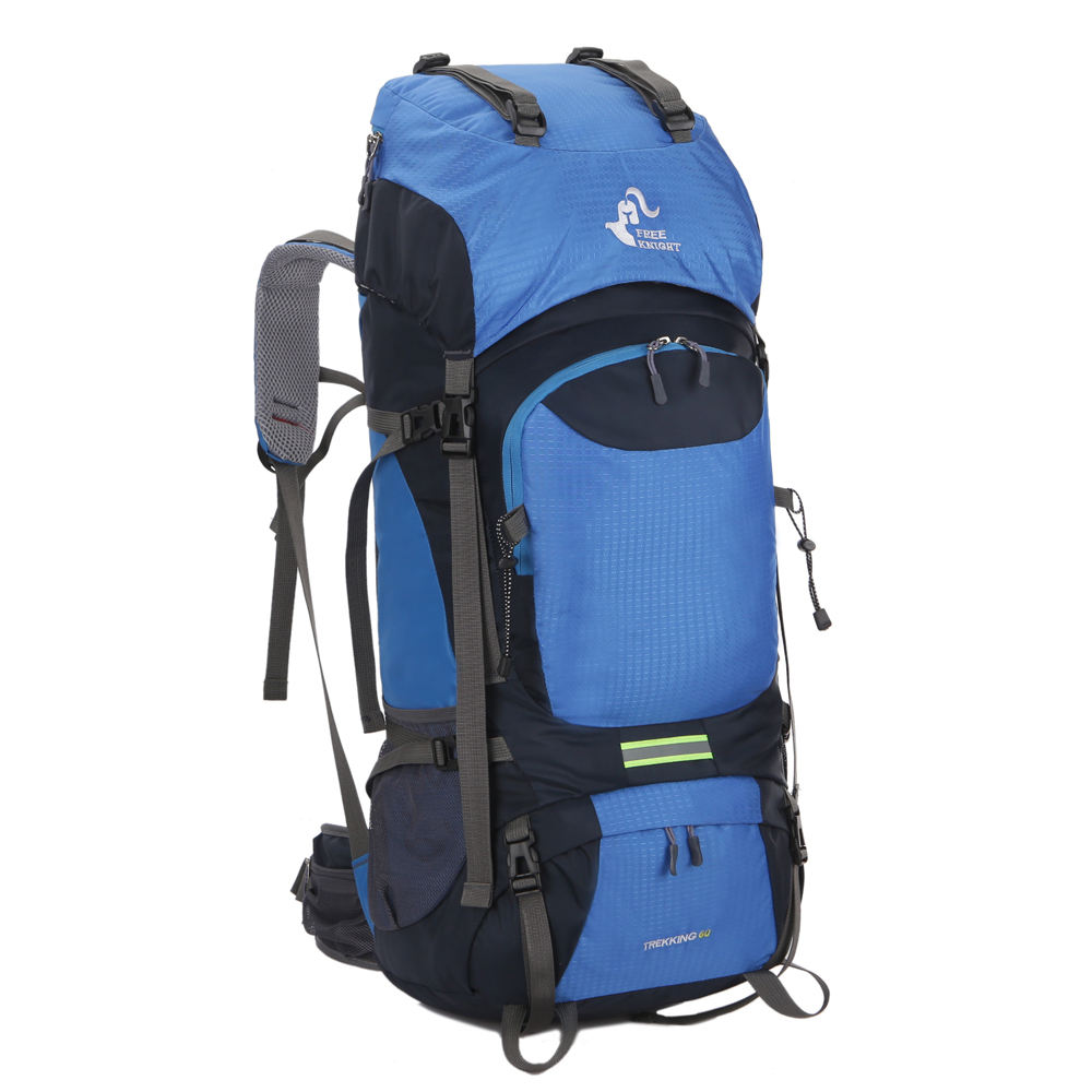 Custom private label bagpack camping backpacken <span class=keywords><strong>rugzak</strong></span> wandelen <span class=keywords><strong>80l</strong></span>