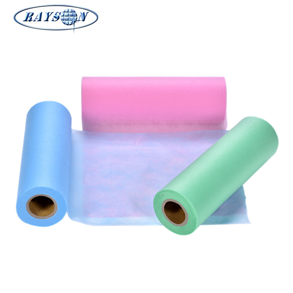 Hydrophilic Nonwoven Fabric Polypropylene SS Spunbond Non Woven Fabric Raw Materials Fabric for Diaper Making