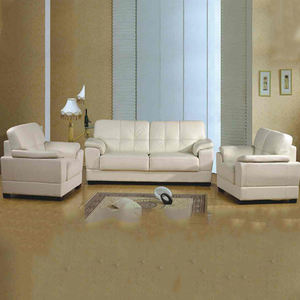 Sectional modern recliner white leather 3 seater folding sofa bed