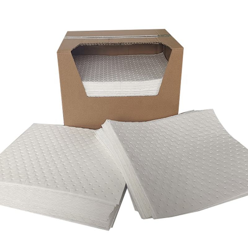 Factory Direct Meltblown 38 x 48 Oil Absorbent Pads with Dimpled