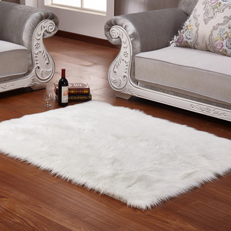 Amazon hot sale home decoration carpet rugs living room faux fur rug