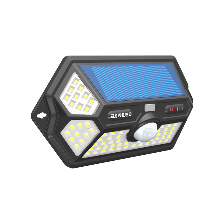 Solar Wall House Aantal Draadloze Led Motion Sensor Licht Outdoor