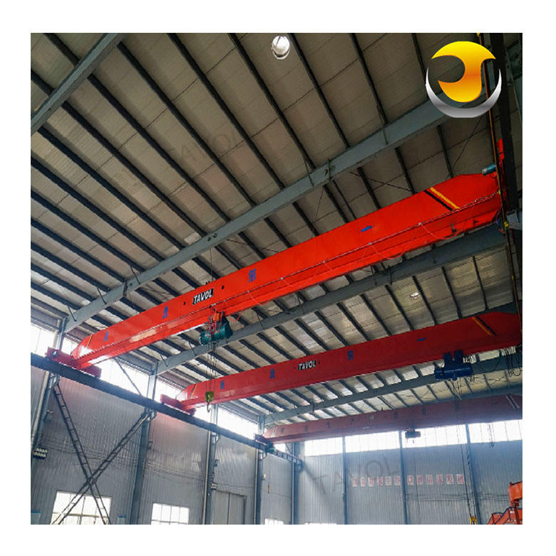 Shandong Tavol 5ton Overhead Crane Price/Trolley Hoist Single Beam Girder Crane