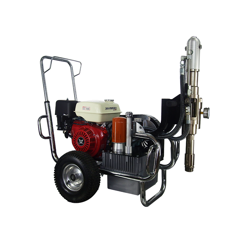 Gasoline Power Airless Paint Sprayer Putty Spraying Machine