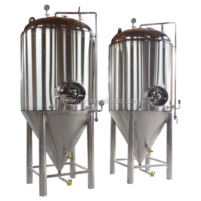 Conical Bottom Fermentation Unitank 1000L microbrewery equipment beer making machine
