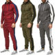 Mens Casual Suits Fashion Mens Tracksuit Wholesale Jogging Tracksuit Casual Hoodies And Sweatpants Autumn Running Suits