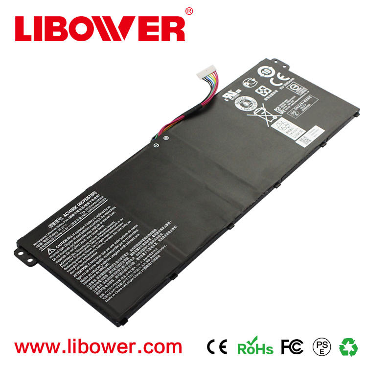 High quality Hot sale Laptop battery AC14B8K AC14B3K Battery For Acer Aspire R 11 R3-131T FOR SF314-51-55RG SF314-51 E5-771G