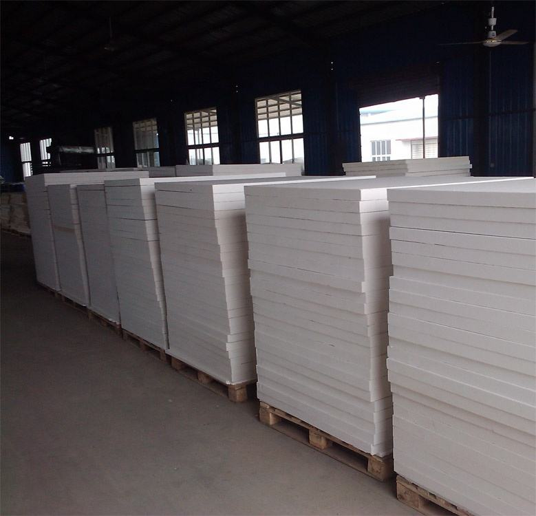 Ceramic fiber board sheets 1800C