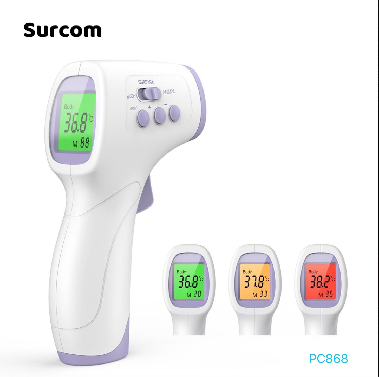 Non-Contact Digital Thermometer Laser Color Display Laser Infrared Thermometer For Baby Adult Animal