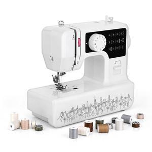 ZYQZYQ Mini M/áquina De Coser De Mano Port/átil para El Hogar Conjunto De Costura De Puntada El/éctrica Inal/ámbrica para Reparaciones R/ápidas DIY Ropa Stitchin,4