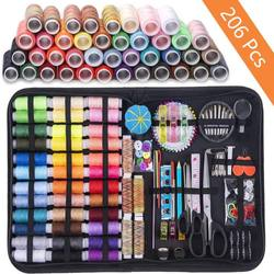 Hot Sale 206pcs Sewing Kits DIY Multi-function Sewing Box Set Kit For Families And DIY Sewing Kit