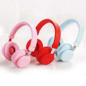 Wholesale Red DJ logo bluetooth headphone true wireless headset