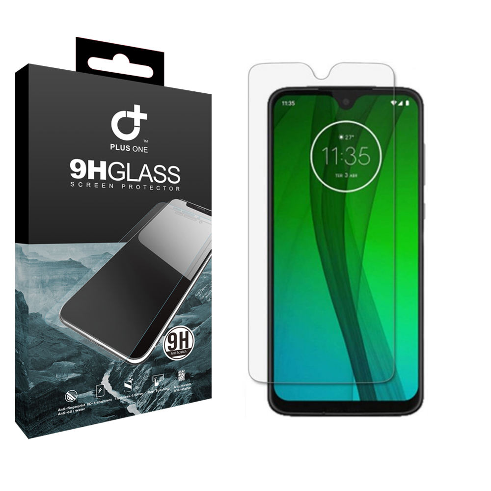 0.3 Thinckess HD Clarity and Maintains the Original Touch Sensitive Anti-Bubble for Motorola Moto G7 Plus
