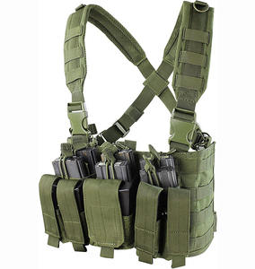 High Quality Nylon Amphibious Camouflage Equipment Chest Carry Vest Military Tactical Vest for Sale