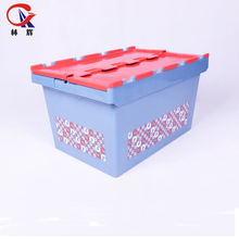 Plastic Moving Foldable Stacking Logistics Containers