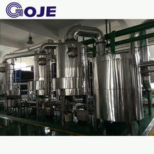 Automatic fruit juice multi effect evaporator machine