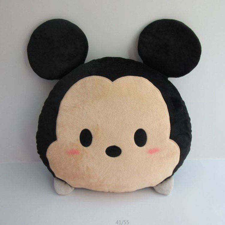 Wholesale colorful baby Plush cushion Toy mickey mouse pillow