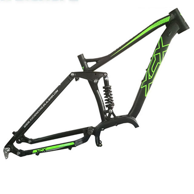 Full Suspension Mountain E-Bike Frame