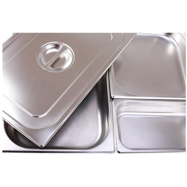 High quality kitchenware stainless steel food gn pan gastronorm container