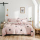 New Arrival 100% Cotton Fabric Beds Sheet 4 PCS SetsA four-piece bedding set