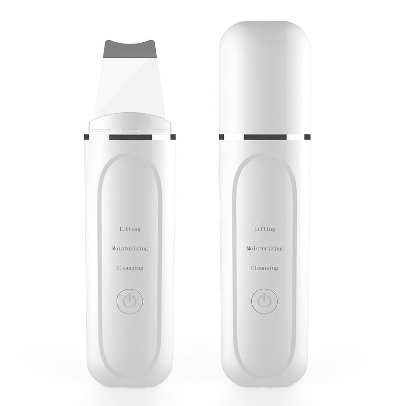 High Quality USB Rechargeable Ultrasonic Face Skin Cleansing Device Ultrasonic Skin Beauty Peeling Scrubber