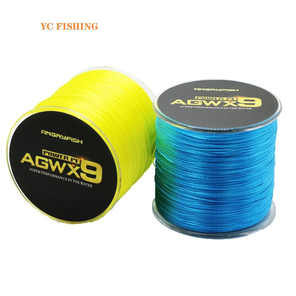 2021 China factory produce new design fish wire braided line 500m