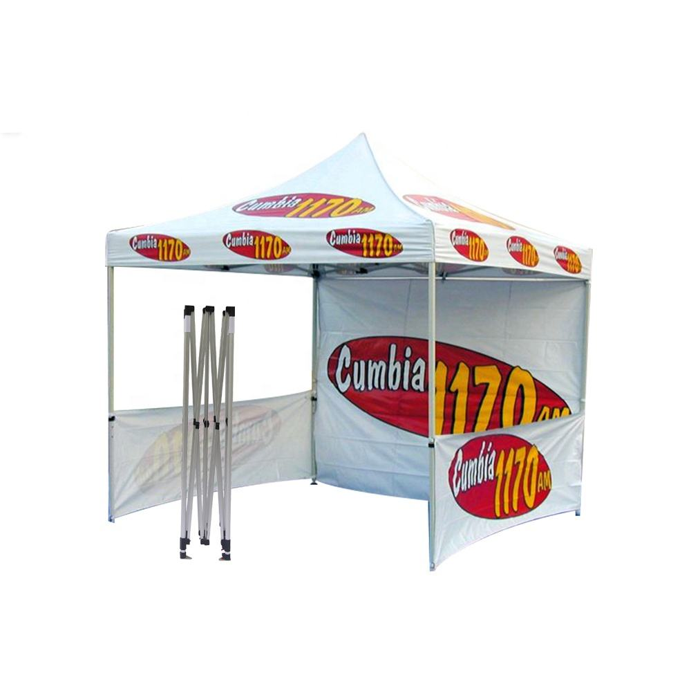 Digital Full Color Printing Custom Logo Print 10X10 Ez Up Canopy Tent