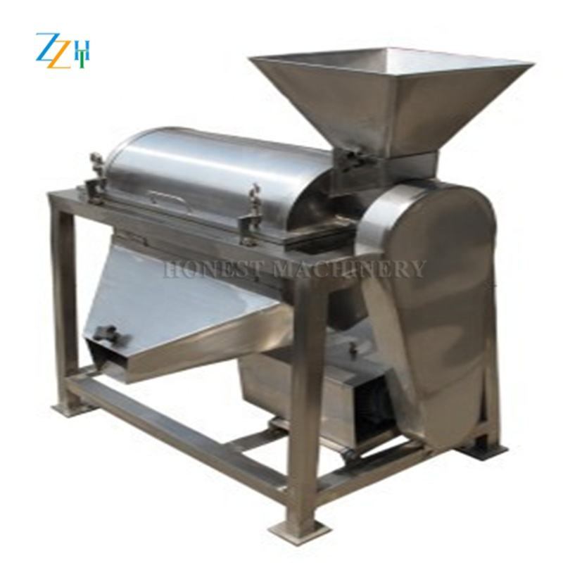 Good Supplier Industrial Fruit Vegetable Puree Machine / Electric Fruit Crusher