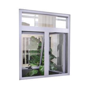 modern house design commercial windows glazed double glass windows price Aluminium Casement and Awning Windows