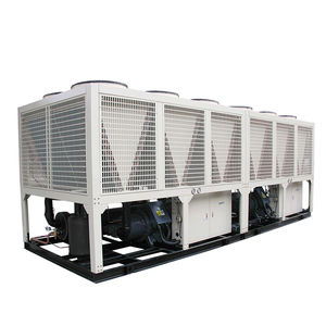 50tr 100 Ton 200 Ton Air Cooled Screw Chiller Air 150KW 300 KW 500KW 600KW Chiller Harga Murah
