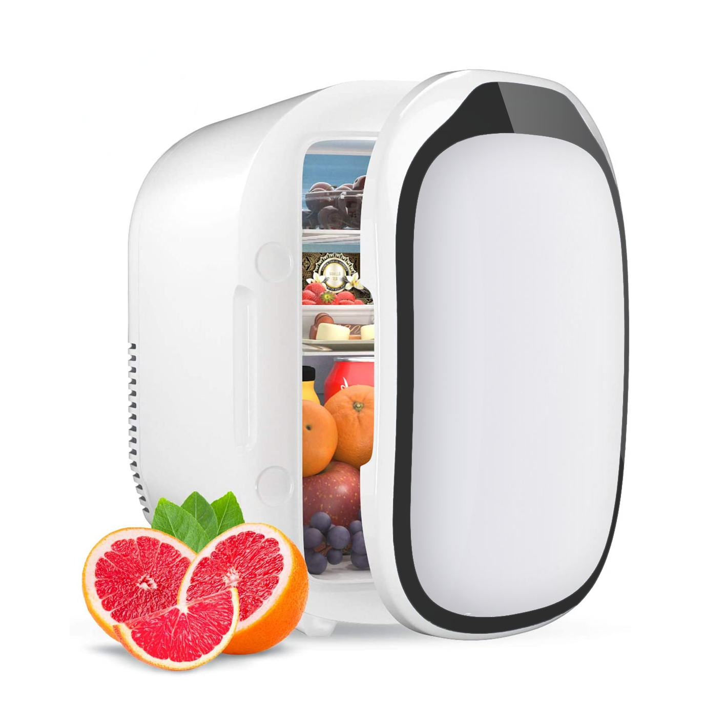 Small Skincare Makeup Fridge Portable Mini Refrigerator Cosmetic Car Fridge Freezer Magnet Beauty Mini Fridges