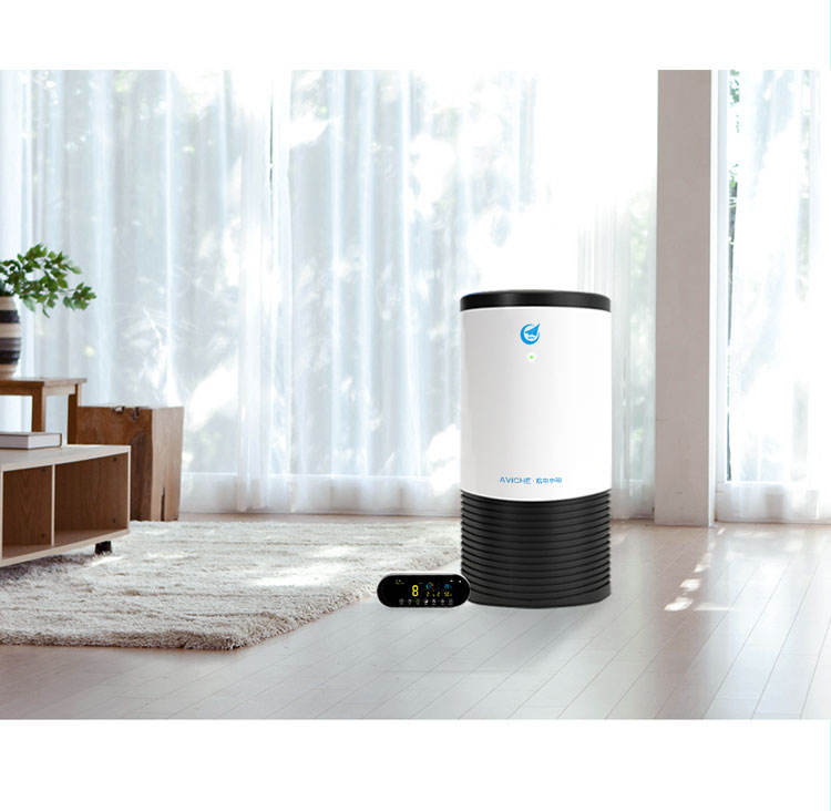AVICHE Y4A antivirus 99.9% smart medical hepa 13 uv air purifier home with CE