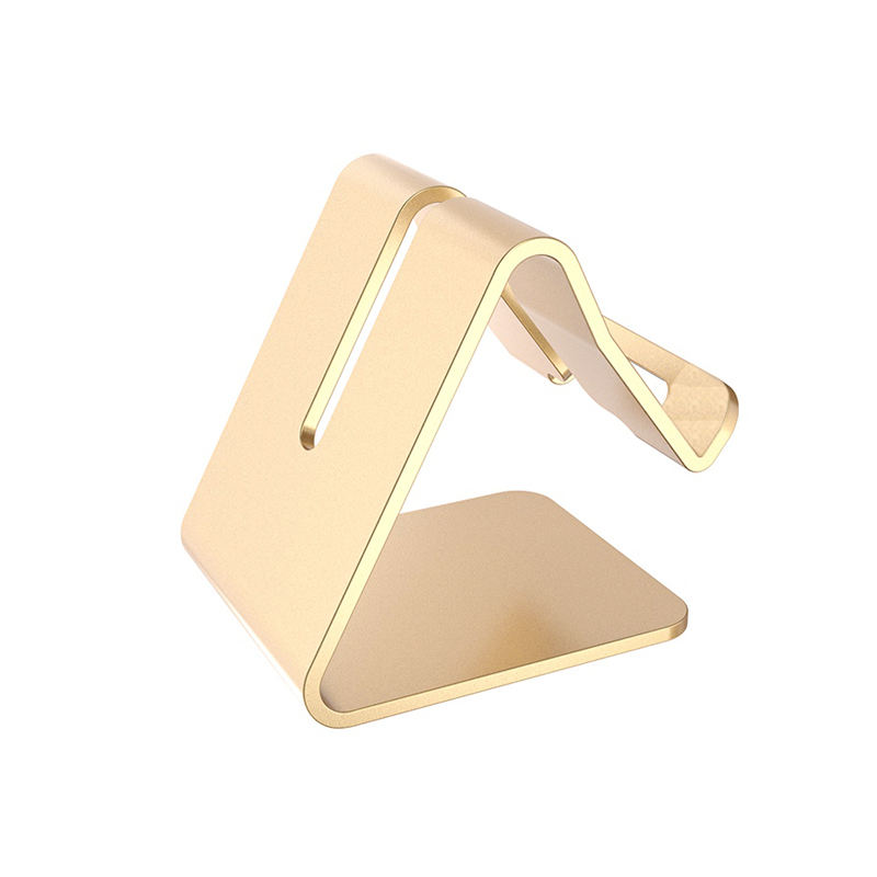 Universal Mobile Phone Bracket Aluminum Metal Cell Phone holder Tablets PC Desk Stand Holder Support Bracket With Package