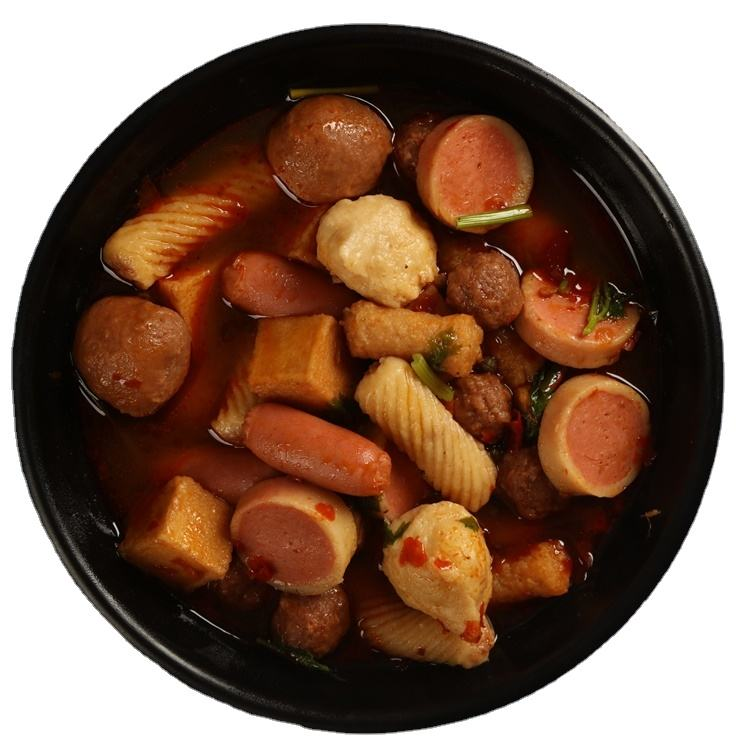 Hot sale frozen food surimi hotpot multiple flavor fish ball frozen seafood