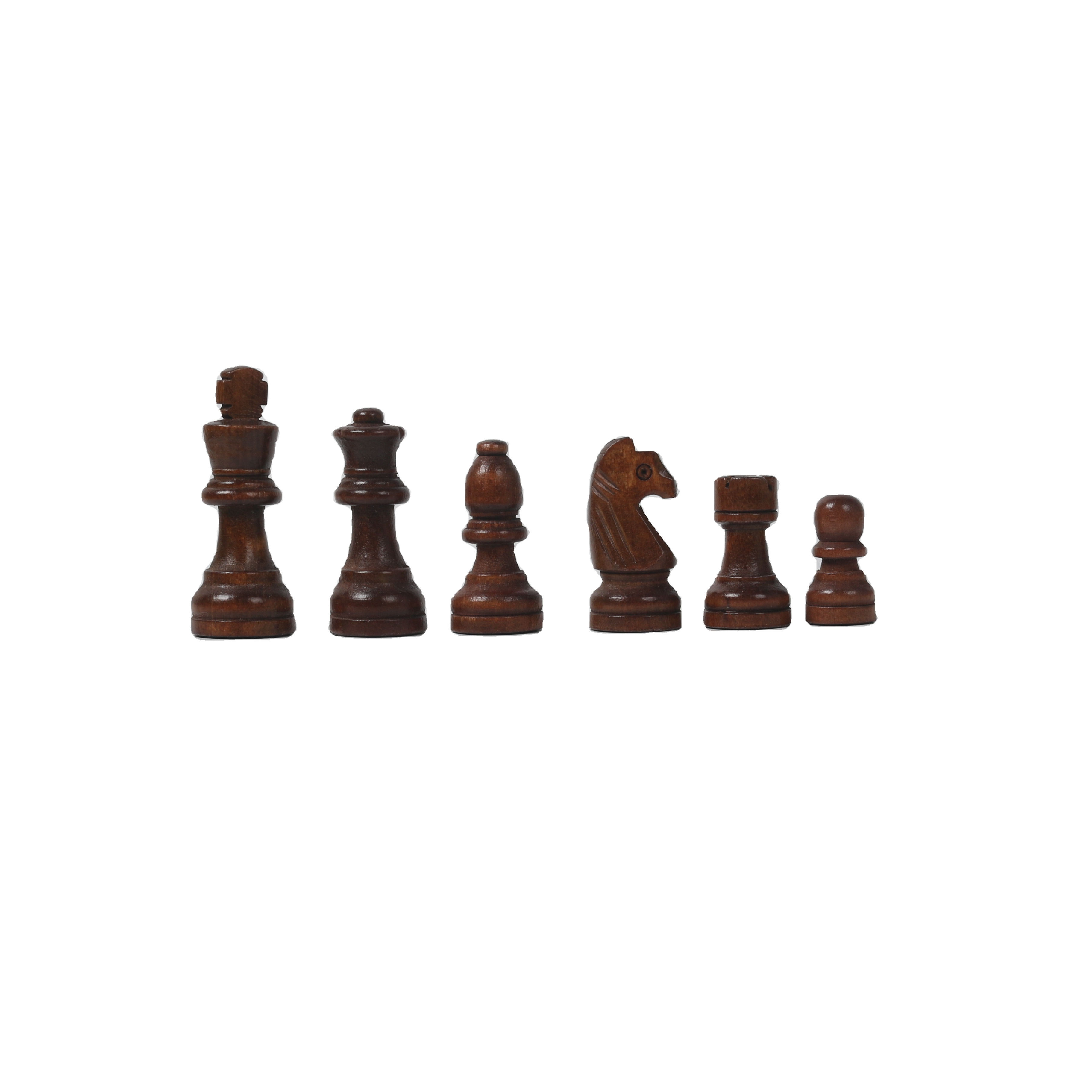 Handmade Professional Tournament Chess Set - Wooden 16 Inch Folding Board With Felt Base & Hand Carved Chess Pieces
