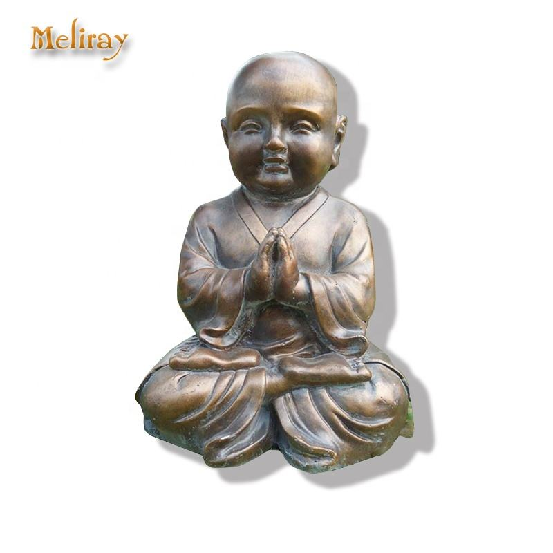 Chinese Resin Buddha Statue Home Decor Decoration Wholesale Small Monk